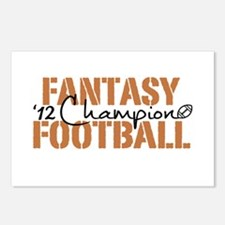 2012 Fantasy Football Champ Postcards (Package of