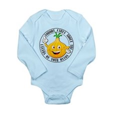 Layers of the Onion Long Sleeve Infant Bodysuit