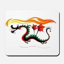 Fiery Dragon Mousepad