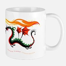 Fiery Dragon Mug