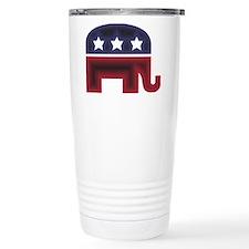 Republican Elephant (C) Travel Mug