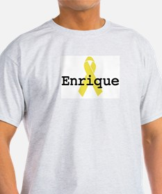 Yellow Ribbon: Enrique Ash Grey T-Shirt