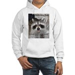 Peanut Raccoon Hooded Sweatshirt