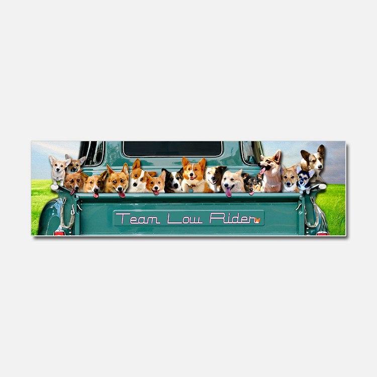 Cute Corgis Car Magnet 10 x 3