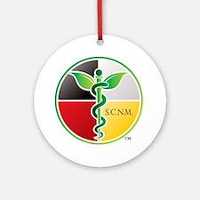 SCNM Medicine Wheel Logo Ornament (Round)