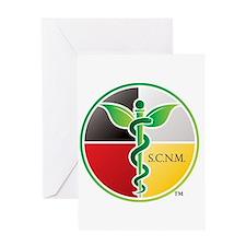 SCNM Medicine Wheel Logo Greeting Card