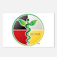SCNM Medicine Wheel Logo Postcards (Package of 8)