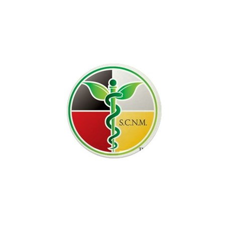 SCNM Medicine Wheel Logo Mini Button (10 pack)