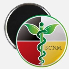 "SCNM Medicine Wheel Logo 2.25"" Magnet (10 pac"