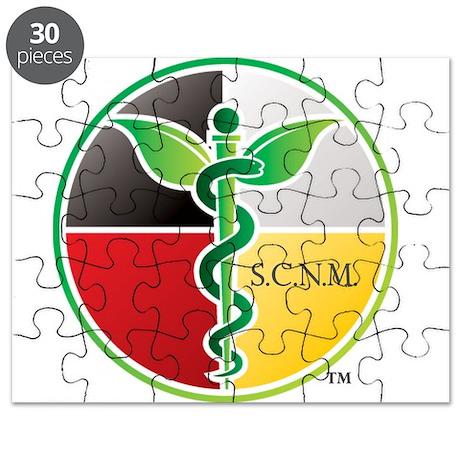 SCNM Medicine Wheel Logo Puzzle