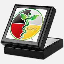 SCNM Medicine Wheel Logo Keepsake Box