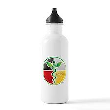 SCNM Medicine Wheel Logo Sports Water Bottle