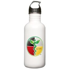 SCNM Medicine Wheel Logo Water Bottle