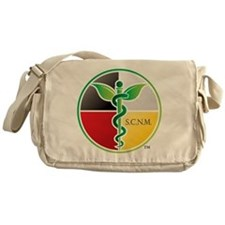 SCNM Medicine Wheel Logo Messenger Bag