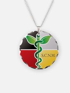 SCNM Medicine Wheel Logo Necklace