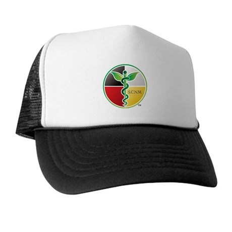 SCNM Medicine Wheel Logo Trucker Hat