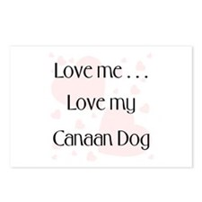 Love Me...Love My Canaan Dog Postcards (Package of
