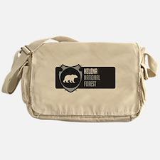 Helena Arrowhead Badge Messenger Bag