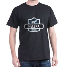 Helena Blue Nature Crest T-Shirt