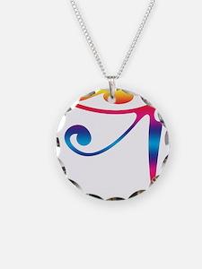 Eye of Horus - Rainbow Necklace
