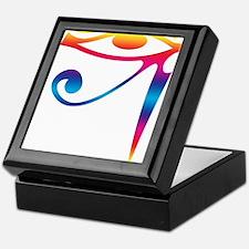 Eye of Horus - Rainbow Keepsake Box