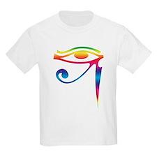 Eye of Horus - Rainbow T-Shirt