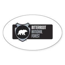 Bitterroot Arrowhead Badge Decal