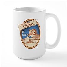 Bitterroot Blue Bighorn Badge Mug