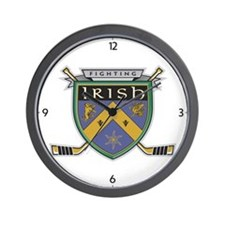 Unique Irish hockey Wall Clock