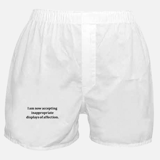 Inappropriate Display Of Affection Boxer Shorts