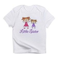 Little Sister with Big sister Infant T-Shirt