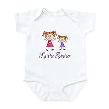 Little Sister with Big sister Infant Bodysuit