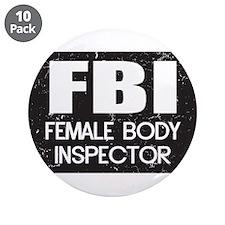 "Female Body Inspector - Distressed Texture 3.5"" Bu"