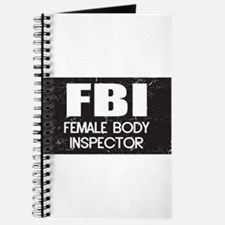 Female Body Inspector - Distressed Texture Journal