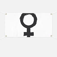Female Symbol Banner