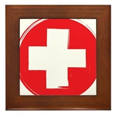 First Aid Framed Tile