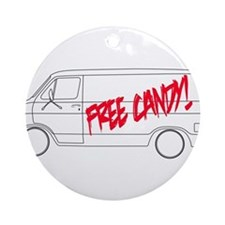 Free Candy! Ornament (Round)