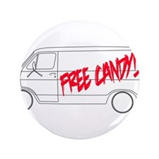 """Free Candy! 3.5"""" Button (100 pack)"""