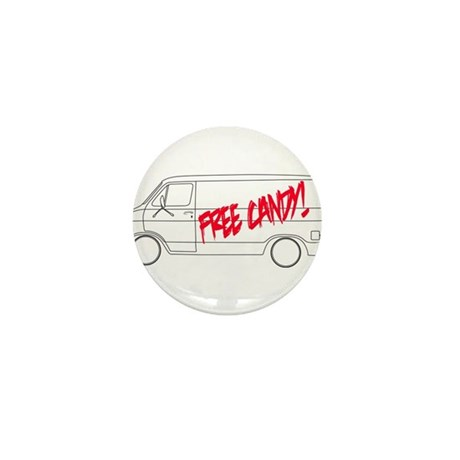 Free Candy! Mini Button