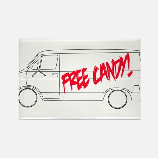 Free Candy! Rectangle Magnet