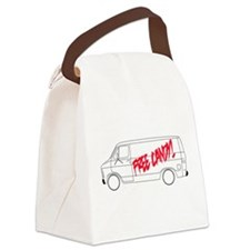 Free Candy! Canvas Lunch Bag