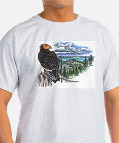 Ash Grey California Condor T-Shirt