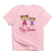 Big Sister with Little Sister Infant T-Shirt