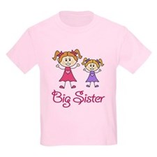 Big Sister with Little Sister T-Shirt