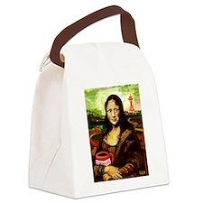 Starbucks Mona Lisa Canvas Lunch Bag