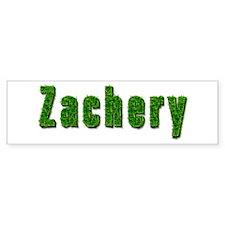 Zachery Grass Bumper Bumper Sticker
