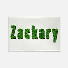 Zackary Grass Rectangle Magnet