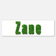 Zane Grass Bumper Bumper Bumper Sticker
