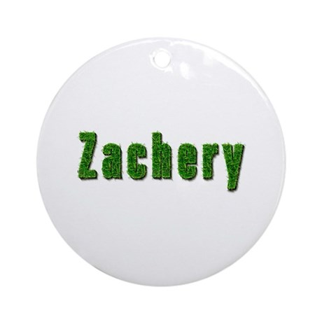 Zachery Grass Round Ornament