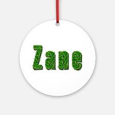 Zane Grass Round Ornament